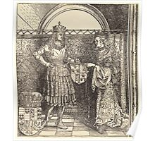 Albrecht Dürer or Durer The Betrothal of Maximilian with Mary of Burgundy Poster