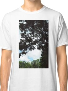 Clouds and Trees in Boothbay Classic T-Shirt
