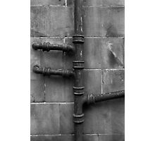 Rusty Pipe Photographic Print
