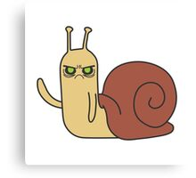 Adventure Time Snail Possessed Canvas Print