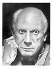 Pablo Picasso by Ronny Hart
