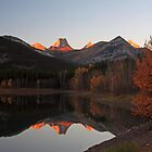 Sunrise over Fortress Mountain by Michael Collier
