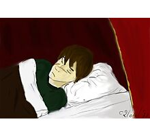 Sleeping Remus Lupin Photographic Print