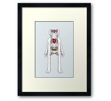 Inside Of Me Framed Print