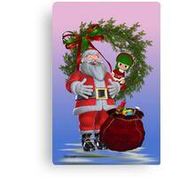 Santa`s Christmas Canvas Print