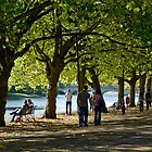 The Embankment, Bedford by Geoff Spivey