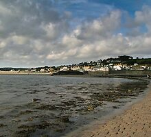 Marazion from St Michael's Mount by gazmercer