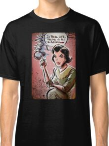 Audrey Horne, Twin Peaks, Art, David Lynch, Sherilyn Fenn, Fire Walk With Me, Movie, Poster, weird, tv, show, joe badon, avant-garde Classic T-Shirt