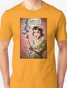 Audrey Horne, Twin Peaks, Art, David Lynch, Sherilyn Fenn, Fire Walk With Me, Movie, Poster, weird, tv, show, joe badon, avant-garde Unisex T-Shirt