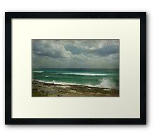 Secrets of the Sea Framed Print