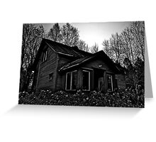 House Of Ghosts Greeting Card