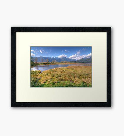 Grant Narrows Landscape Framed Print