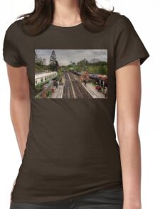Goathland Railway Station Womens Fitted T-Shirt