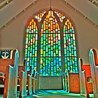 HDR - ZLC - Rear Glass and Pews by Doug Greenwald