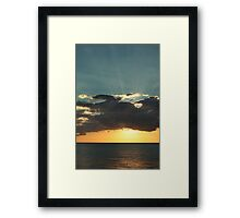 Shining With Love Framed Print