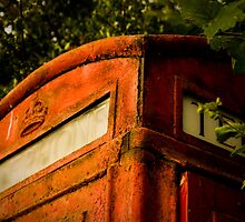 Good Old British Phone Booth! by Gina Dover-Jaques