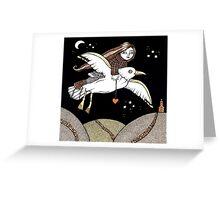 Frannie's Flight of Fancy Greeting Card