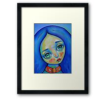 Sad childhood...Detail Framed Print