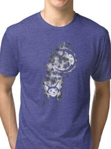 The Cat Who Walks Alone - T Shirt Tri-blend T-Shirt
