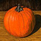 Portrait of a Personal Pumpkin by bernzweig