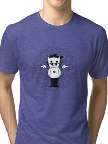OFF ~ Zacharie (with background) Tri-blend T-Shirt