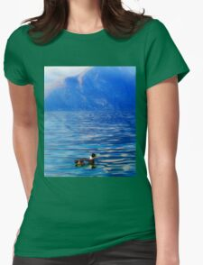 Duck on a mountain lake T-Shirt