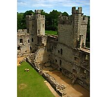 Shell of Modernity, Bodiam Castle, England 2015 Photographic Print