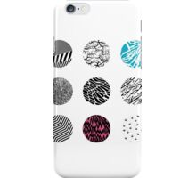 Blurryface album cover edited blue and pink  iPhone Case/Skin