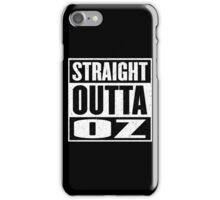 Straight Outta Oz - Dorothy & Toto in the Hood - Movie Mashup - Not in Kansas Anymore iPhone Case/Skin