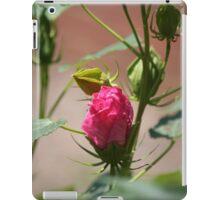 Pink bud-dy iPad Case/Skin