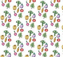 Garden Fresh - Pattern by Nicole Cischke