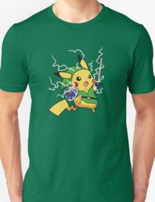 Linkachu - Pokemon Zelda T-Shirt