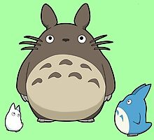 Studio Ghibli - My Neighbor Totoro - Totoro by 57MEDIA