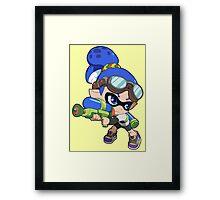 Splatoon - Inkling Boy Framed Print