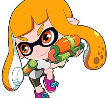 Splatoon - Inkling Girl by 57MEDIA