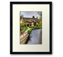 The Thatched Cottage Framed Print