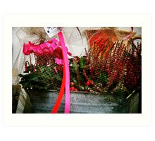 Support Breast Cancer  Art Print