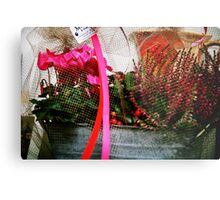 Support Breast Cancer  Metal Print