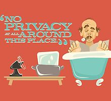 "Walt Disney World - Carousel of Progress - Cousin Orville - ""No Privacy!"" by hobarthiggins"