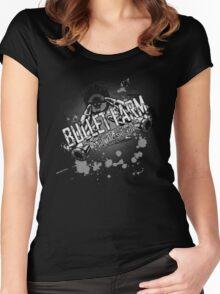 Bullet Farm Women's Fitted Scoop T-Shirt