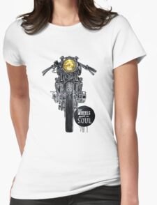 cafe racer Womens Fitted T-Shirt