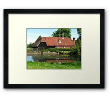 Quintessentially English, Park Mill at Bateman's Estate, England 2015 Framed Print