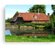 Quintessentially English, Park Mill at Bateman's Estate, England 2015 Canvas Print