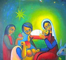 Birth to Jesus by Ciprian  Chirita