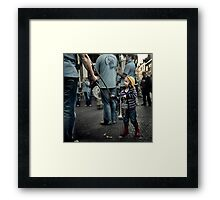 Hey You, this is my solo ! Framed Print