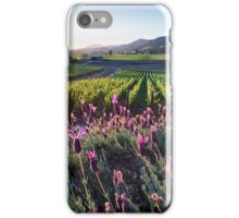 Grapevines and Pink Flowers, iPhone Case/Skin