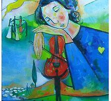 The dream of a composer by Ciprian  Chirita