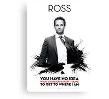 Awesome Series - Ross Canvas Print