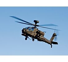 AH1 Apache Attack Helicopter Photographic Print