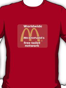 mcToilet T-Shirt